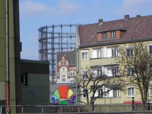 sachsendamm berlin sch neberg a100 hans baluschek park m belh user bahnhof s dkreuz. Black Bedroom Furniture Sets. Home Design Ideas